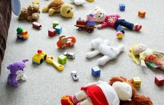 """When your little ones play with Legos, figurines, or other multi-piece toys, start by laying out a large blanket or bed sheet first. That way, when it's time to clean up, you can bring the ends of the blanket together and quickly dump the toys back into their storage bucket. It also helps to give your kids a more defined play area to try and keep the toys within."" — Joy Cho, founder of Oh Joy!"