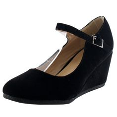 Forever Link Womens Patricia-05 Mary Jane Strap Faux Suede Wedge Pumps,Black Suede,6.5 Forever http://www.amazon.com/dp/B00JLMPK8K/ref=cm_sw_r_pi_dp_UG.Rvb10WWKYW