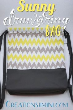 The perfect little colorful and casual backpack. Convenient size for the gym, school, kids or a sweet city bag. Lined with a large inside pocket. City Bag, Backpack Bags, Louis Vuitton Damier, Sunnies, Diaper Bag, Colorful, Backpacks, Sewing, Casual