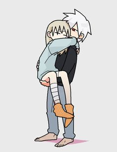 Maka and her Soul (Soul Eater)