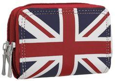 EyeCatchBags - Womens Union Flag Purse: Amazon.co.uk: Shoes & Accessories