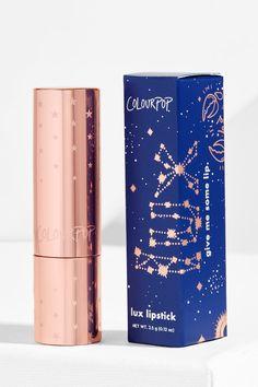 Kathleen Lights x ColourPop - Scorpio Moon crème plummy rose Lux Lipstick unit carton packaging