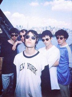 Liam and Noel though. Liam Gallagher Oasis, Noel Gallagher, Collage Des Photos, Oasis Band, Liam And Noel, El Rock And Roll, Cult, Britpop, Poster S
