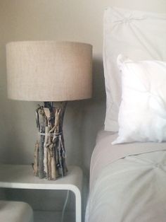HOW TO-DRIFTWOOD TABLE LAMP by SUZIE Q