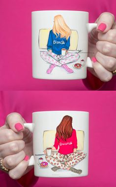 Best friends Coffee Mug,Chic Coffee mug,Coffee mug,Coffee Lover gift,Unique Mug,Coffee Mug,Ceramic mug,Cute coffee mug,Gift gor her