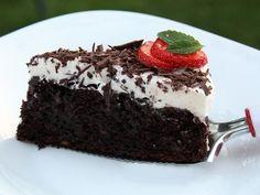 Desať receptov na najlepšie hrnčekové koláče Cheesecake Brownies, Chocolate Pies, Easy Desserts, Tiramisu, Food And Drink, Pudding, Meals, Ethnic Recipes, 3