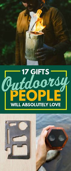 17 Gifts Outdoorsy People Will Absolutely Love Show your lumbersexual some love. Camping Bedarf, Camping Gifts, Camping Survival, Outdoor Survival, Camping Hacks, Outdoor Camping, Camping Kitchen, Camping Gadgets, Camping Cooking