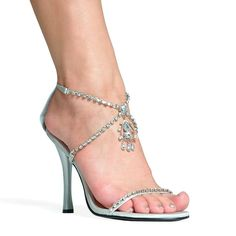 6179f249888a 40+ Best Heels Sandals Design That Make Women s More Beautiful. Latest ShoesRhinestone  ShoesSilver ...
