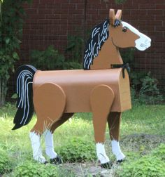 Horse Lover Mailbox, You Pick the Colors