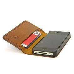 Vind het iPhone hoesje van leer waar jij naar op zoek bent  - #leather iphone 5 case book | Red Clouds Collective - Slim Book wallet + iPhone case :: want - http://lereniPhone5hoesjes.nl