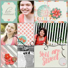 Layout by Kimberly Lund using Call Me Sweetheart by Amber Shaw available at Sweet Shoppe Designs.