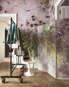 Claire Basler Home Claire Basler, Magical Home, Interior Wallpaper, Rustic Room, Mural Wall Art, Art Classroom, Art Of Living, French Artists, House Colors