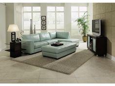 Ciera Sea Foam 3-PC Sectional - Value City Furniture