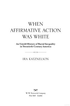 a history of affirmative action in the late 20th century A long history of affirmative action - for whites affirmative action in the american instituted in the late 19th and early 20th century and not.