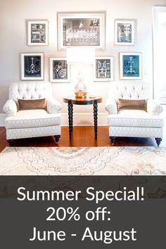 Summer Special!  20%