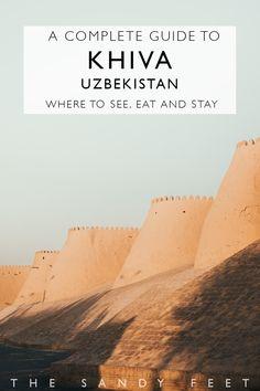 A Short Guide To Khiva: Our Favorite Town On Uzbekistan's Silk Road #khiva #uzbekistan #centralasia #silkroad #travel