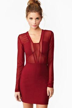 Siren Mesh Dress