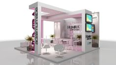 Stand 6m x 6m by Diogo Ludviger Raucci, via Behance