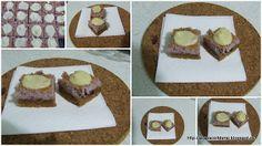 by Acasa Colt de Rai- Mini cheesecake with berries and white chocolate White Chocolate, Berries, Cheesecake, Goodies, Mini, Sweet Like Candy, Treats, Gummi Candy, Cheesecakes