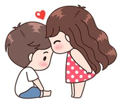 This love for you, send your love to your couple. It's so cute >. Cute Chibi Couple, Love Cartoon Couple, Cute Love Cartoons, Cute Love Couple, Anime Love Couple, Cute Love Pictures, Cute Cartoon Pictures, Cute Love Gif, Cute Couple Drawings