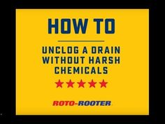 Drain Cleaning without Harsh Chemicals | Roto-Rooter Blog