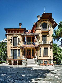 Villa Fernandez Victorian Houses, Thessaloniki, Villa, Homes, Mansions, History, House Styles, Home Decor, Houses