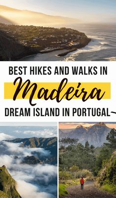Madeira is filled with stunning hikes and walks for all types of travelers. Check our complete guide to the best hikes and walks in this Portuguese island! Madeira island is a dream destination in Portugal I Hikes and Walks in Madeira I Travel Guide I Travel Tips for Madeira Portugal I Best Things to do in Madeira Portugal I Madeira Itinerary I Best Destinations in Europe #Madeira #Portugal #travelguide #hikingguide #traveltips Portugal Travel Guide, Europe Travel Guide, Europe Destinations, Amazing Destinations, Travel Info, Travel Ideas, Trekking, Best Hikes, European Travel