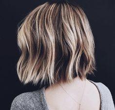 Cute bob haircut #style