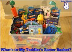 What's In My Toddler's Easter Basket? - House of Burke