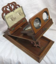 Antique Avenue- always wanted my own stereoscope!