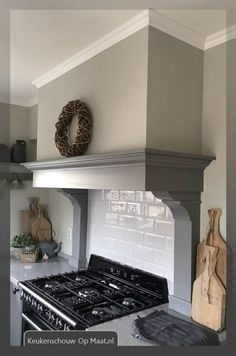 Kitchen Butlers Pantry, Kitchen Vent, Kitchen Hoods, Kitchen Hood Design, Kitchen Design Gallery, English Cottage Kitchens, Kitchen Canopy, Kitchen Chimney, Cosy Interior