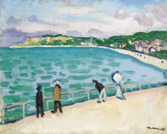 1905-06 La Jetee, Saint Adresse by Albert Marquet