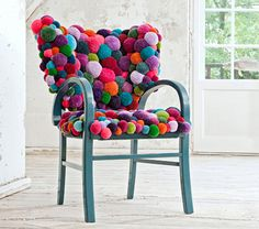 Awesome pouf chair by MYK