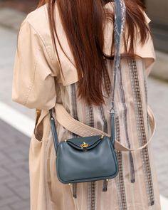 Hermes Lindy Bag, Brand New, Mini, Green, Leather, Bags, Collection, Handbags, Bag