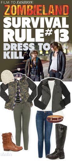 Film to Fashion: Zombieland Style via lulus.com!