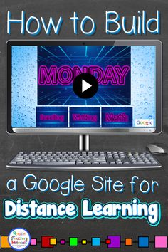 Rockin' Teacher Materials: An Easy Way to Deliver Lessons to Your Students with Distance Learning Google Classroom, Classroom Freebies, Classroom Ideas, Home Learning, Learning Resources, Online Learning Sites, Learning French, Teaching Spanish, Google Sites