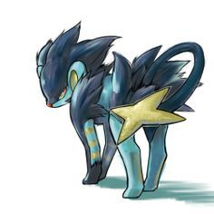Luxray, one of my favorites- it's definitely my favorite on my team