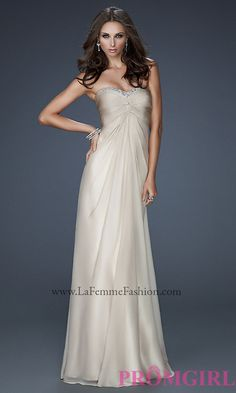 Long Prom Dress Style: LF-17443 Front Image