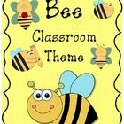 Bee Classroom Theme!!!  This is 100 pages packed full of everything you will need for a colorful bee themed classroom.  I used eight different bee ...