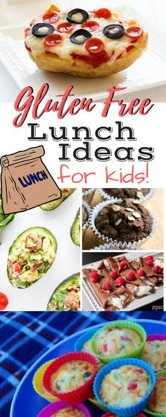 Gluten Free Lunch Ideas for Kids / Healthy Eating / Food Allergies / Lunch Ideas / Kid Friendly Meals / Easy Recipes