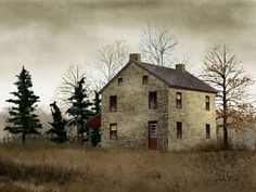 old barns and empty houses | Billy Jacobs - Framed Artist Prints, Framed Art Prints, Framed ...