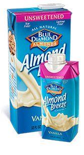 Shelf Stable Almond Breeze Vanilla Unsweetened
