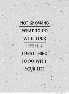 via | the things we say