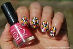 Tulips nails