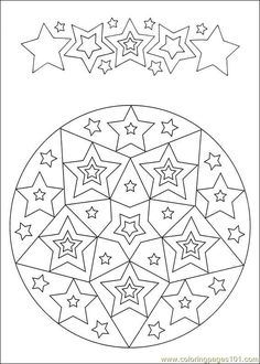 Free Printable Mandala Coloring Pages | free printable coloring page Mandalas 031 (Other > Painting)