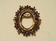 Large Gold Jewelry Finding Pin by TheCharmingAttic on Etsy, $2.00