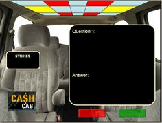 PowerPoint Review Game Templates (Jeopardy, Millionaire, and Cash Cab)