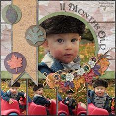 11+Month+Jonathan - Scrapbook.com