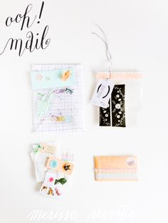 MERISSA CHERIE: {The Happy Mail Project} Mail From Erika H.