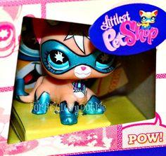 lps comic con cat littlest pet shop